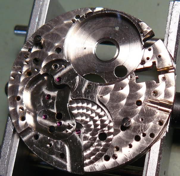 Chronographe Breitling Premier 1946 venus 175 3 compteurs 5pelx0