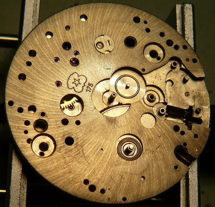Chronographe Breitling Premier 1946 venus 175 3 compteurs E1aknc