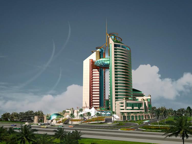 مشروع مركز التجارة العالمى ( الجزائر)