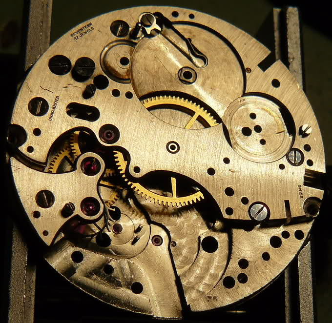 Chronographe Breitling Premier 1946 venus 175 3 compteurs Mab3bt