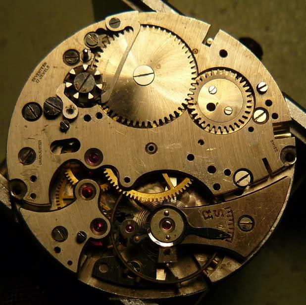 Chronographe Breitling Premier 1946 venus 175 3 compteurs Mwusfr