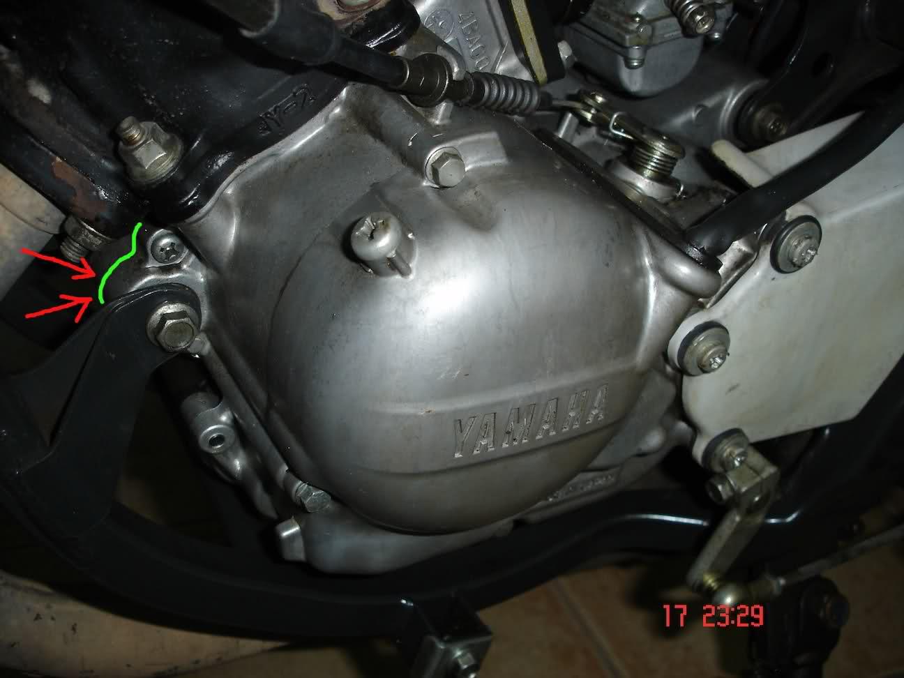 Fuga de aceite en Yamaha TZR 80 RR O6enty