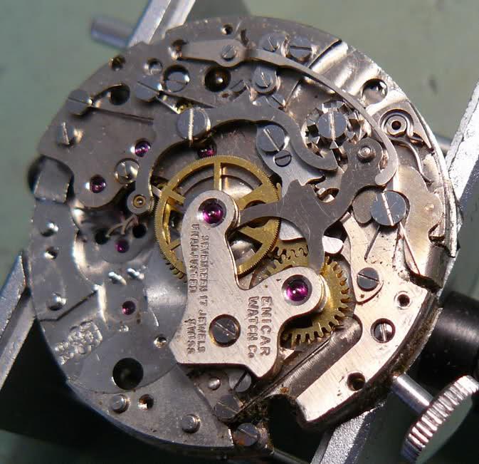 Enicar - Chronographe Enicar R92 1zco7sl