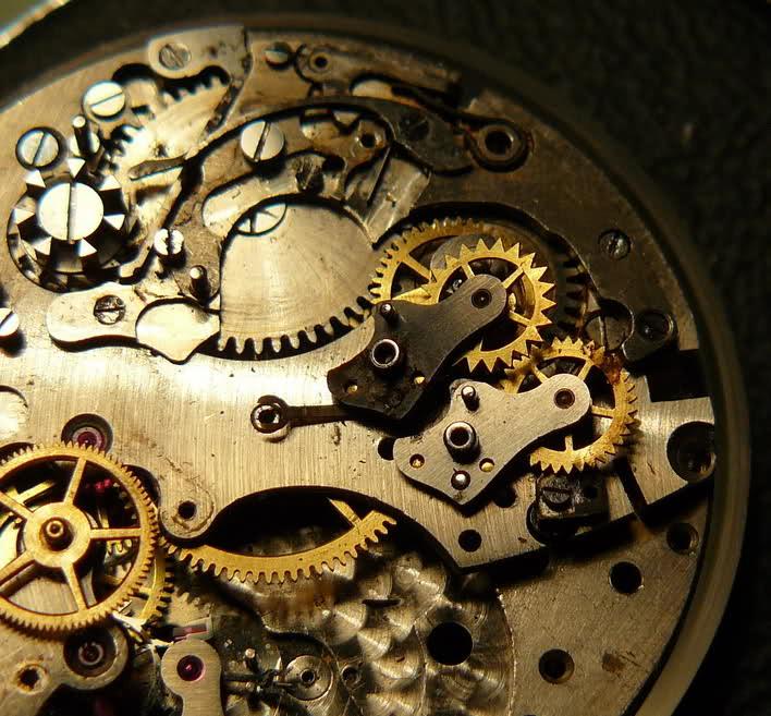 Chronographe Breitling Premier 1946 venus 175 3 compteurs 219rrzt