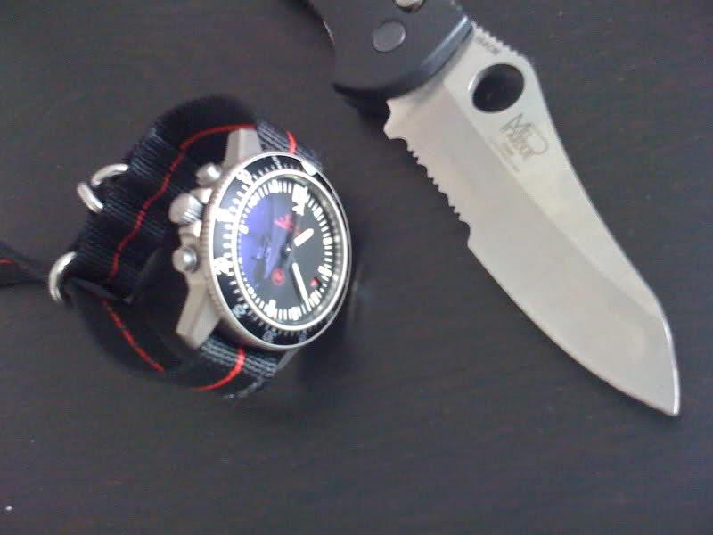 A couper le souffle: Montres et couteaux... 23s6o2s