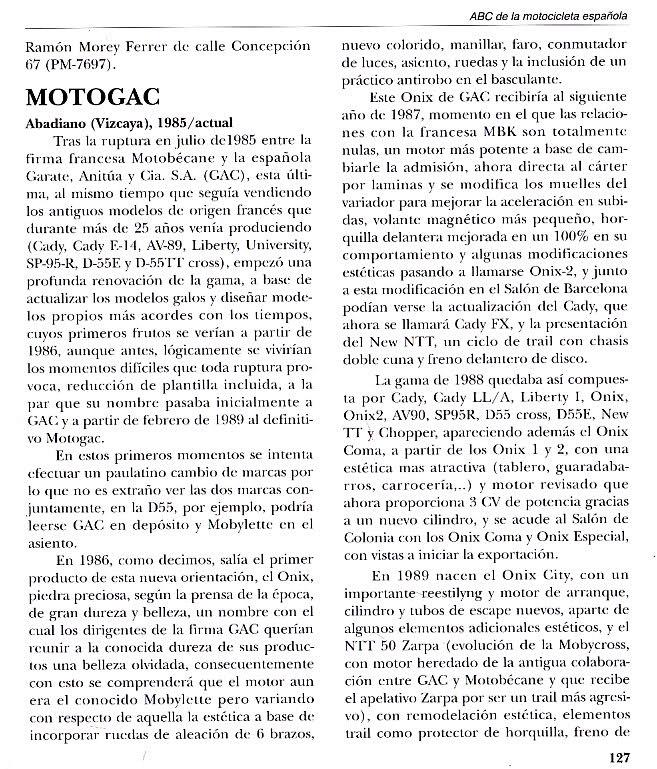 ¿En que año empezó a fabricar MOTOGAC? 5mx2z6