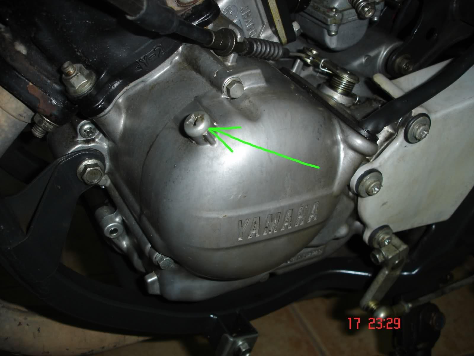 Fuga de aceite en Yamaha TZR 80 RR J9as76