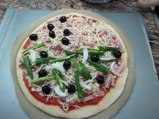 Masa de pizza con sémola de trigo Muheg