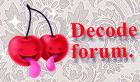 Decode forum,prisijunk prie mūsų!