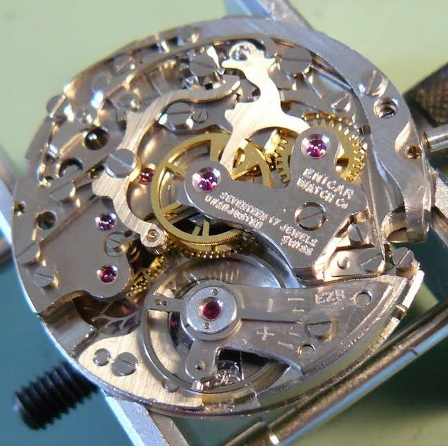 Chronographe Enicar R92 10r63w5