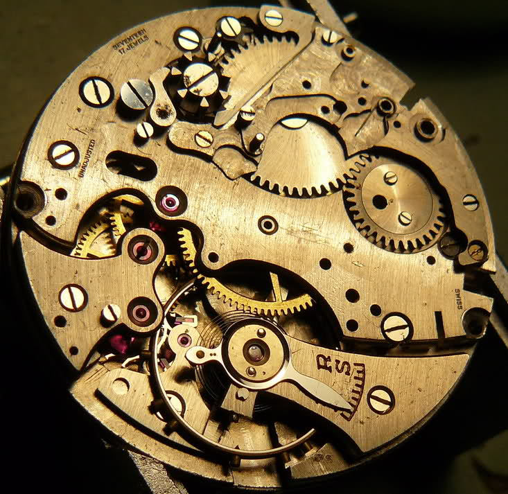 Chronographe Breitling Premier 1946 venus 175 3 compteurs 15ojwbt