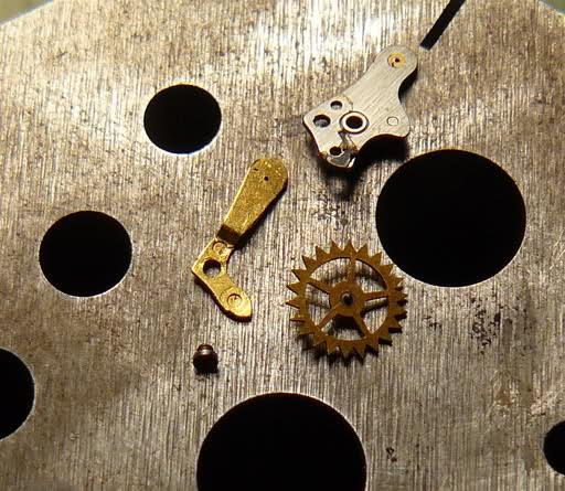 Chronographe Breitling Premier 1946 venus 175 3 compteurs 28be3cy
