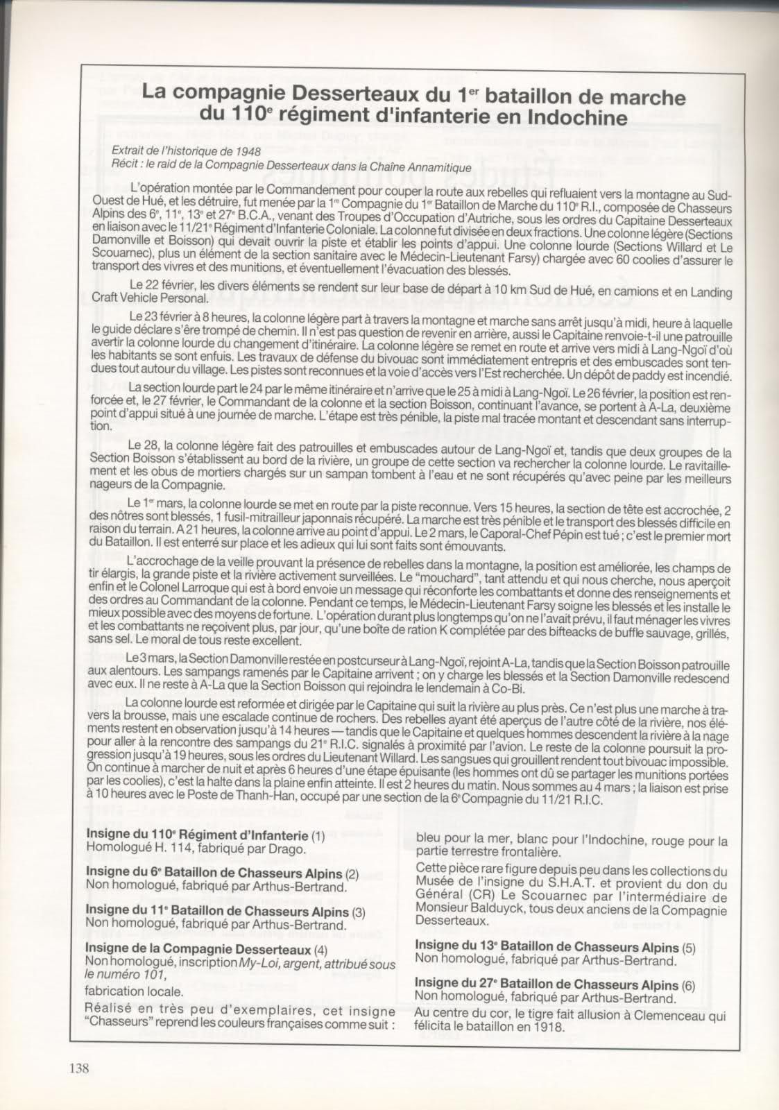Un récit sur le CNE DESSERTEAUX en indochine 2qna3nm