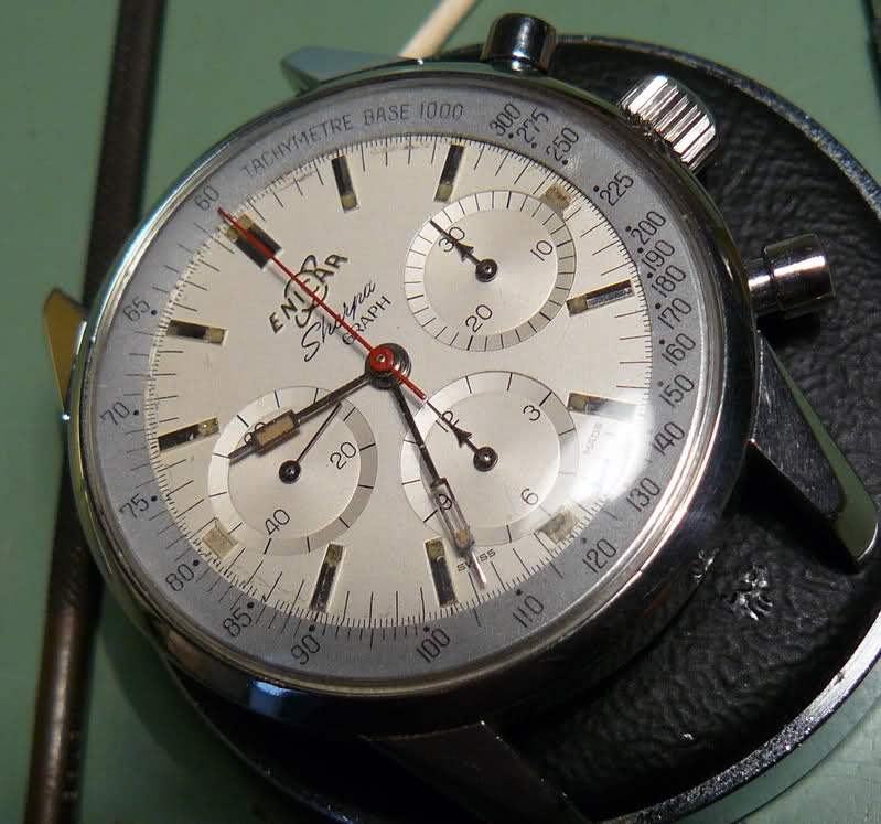 Enicar - Chronographe Enicar Sherpa Graph R72 : une fin de collection 2r7y99h