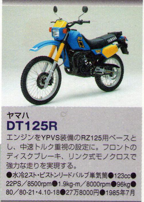 Mi Yamaha DT 80 15hftc