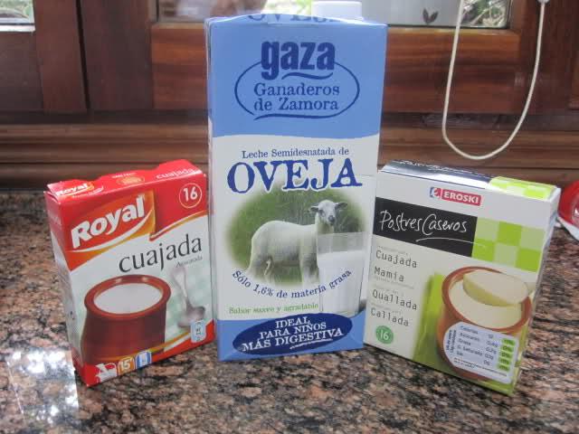 Cuajada de leche de oveja (sucedáneo) 20ha4iv