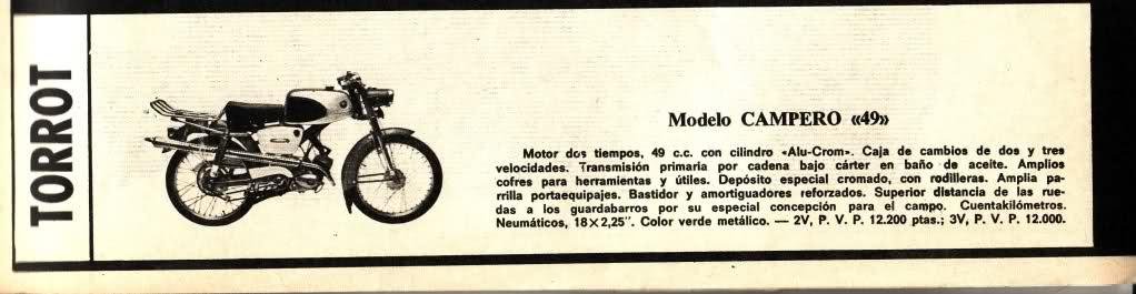 ¿Qué modelo de Torrot es? 2d6p991