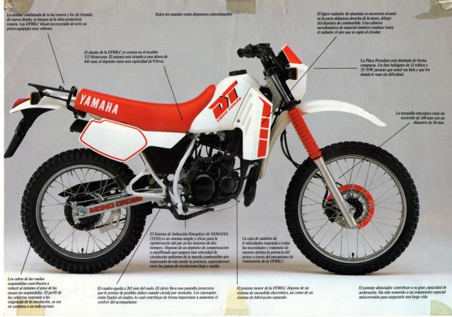 Mi Yamaha DT 80 2rmawdt