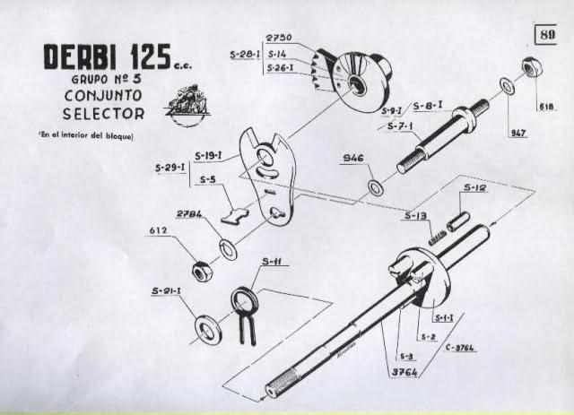 Restauración Derbi 125 Super 4V - Karioko 54eww1
