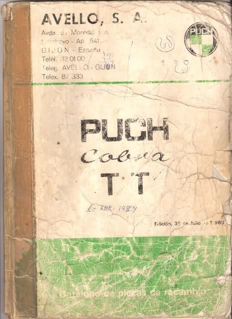 Varios manuales Puch A2uolk