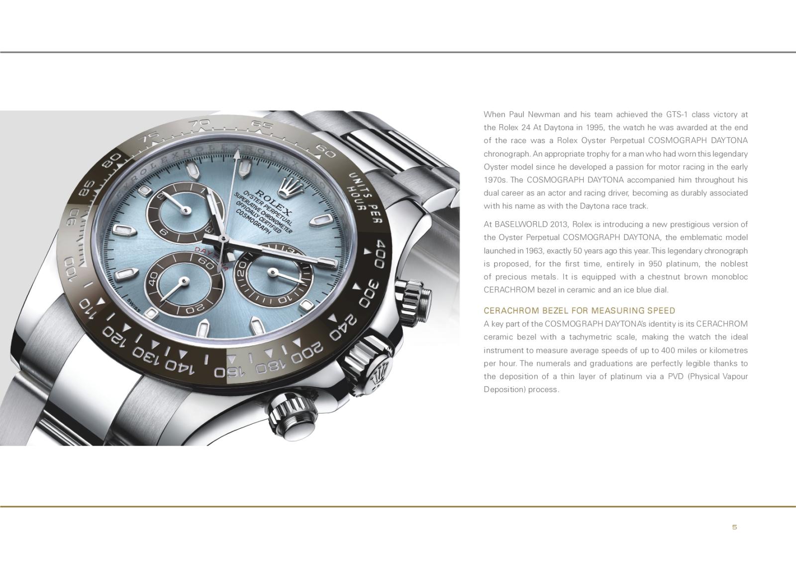 Baselworld 2013: Rolex E6t09h