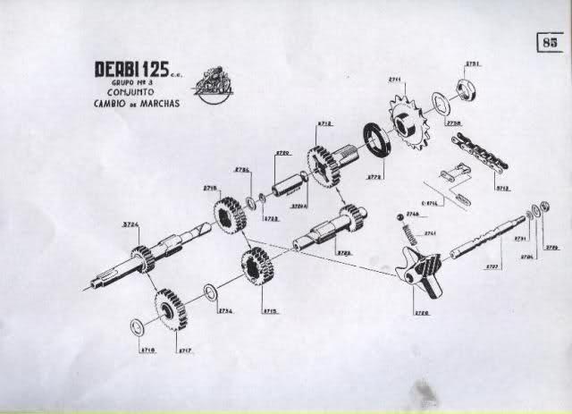 Restauración Derbi 125 Super 4V - Karioko Eld7p0