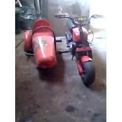 ¿Ciclomotores con sidecar? Fkwc2s