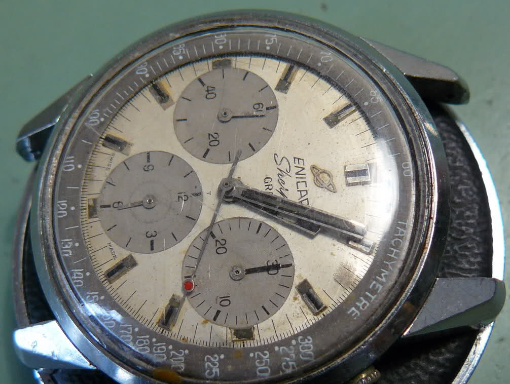 Enicar - Chronograph Enicar R72 : du Sherpa à l'Aqua Otoml0