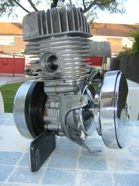 Mobylette SP-96, Inicio restauración. T6w75l