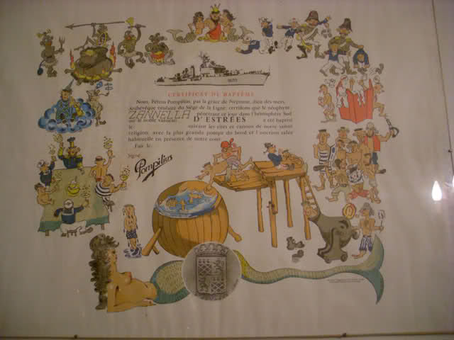 [ Les traditions dans la Marine ] Les diplômes de la Ligne - Page 2 Ve4zkz