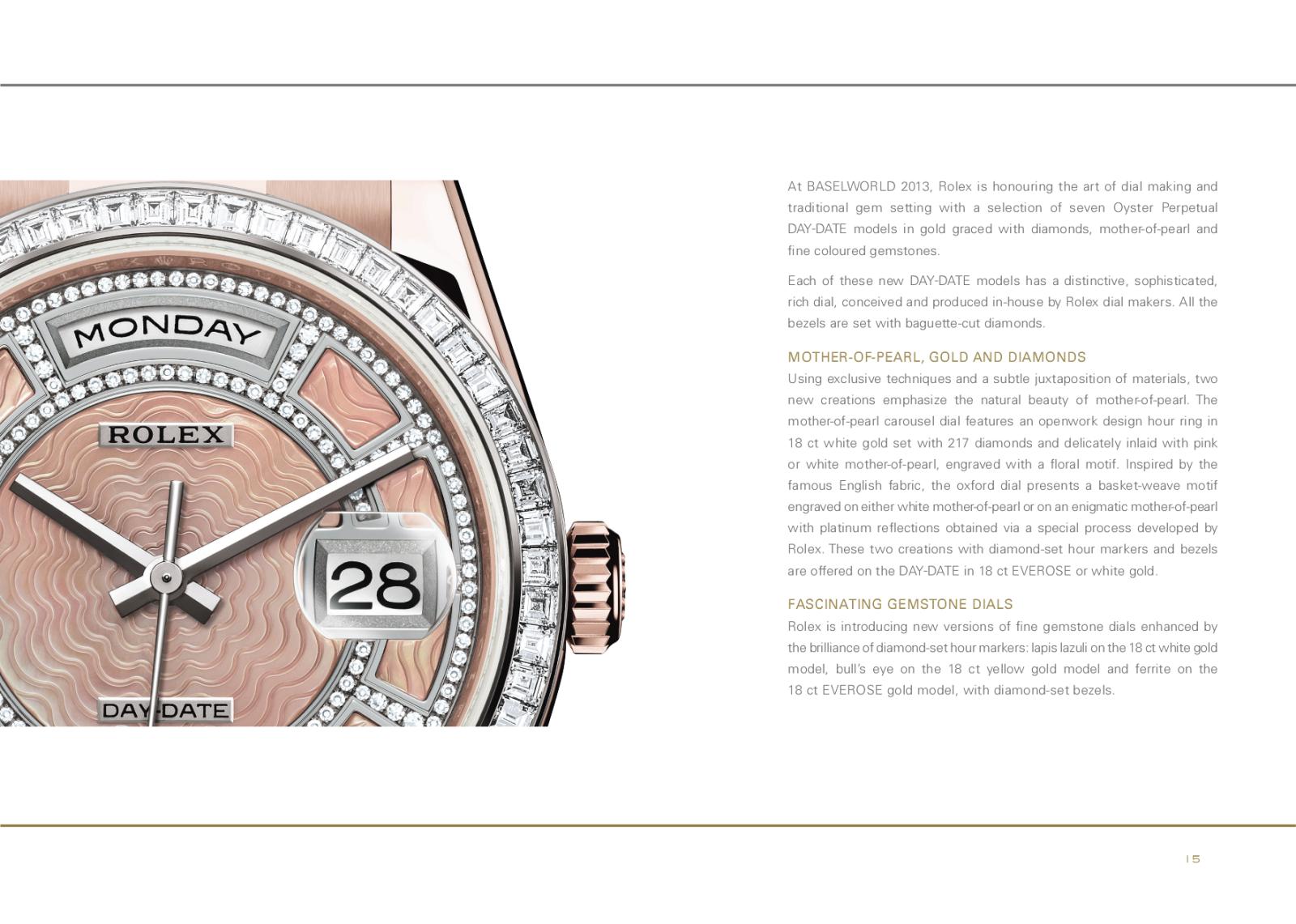 Baselworld 2013: Rolex W5qir