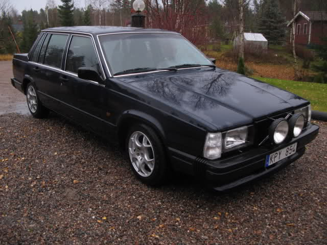 Golden Boy - Volvo 740 Turbo Drifting/isbil Xqkwzp
