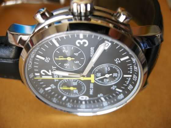 Demande avis sur achat futur de Tissot PRC 200 chrono I (quartz avec aiguille ja 1zn3ls8