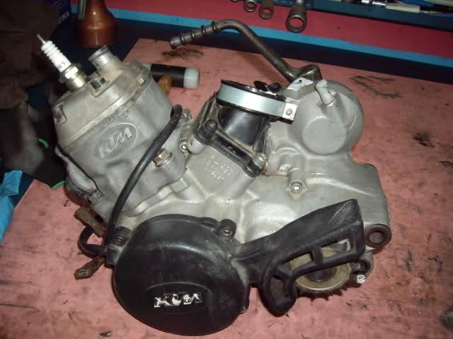 Ayuda motor KTM 80 20rr14h