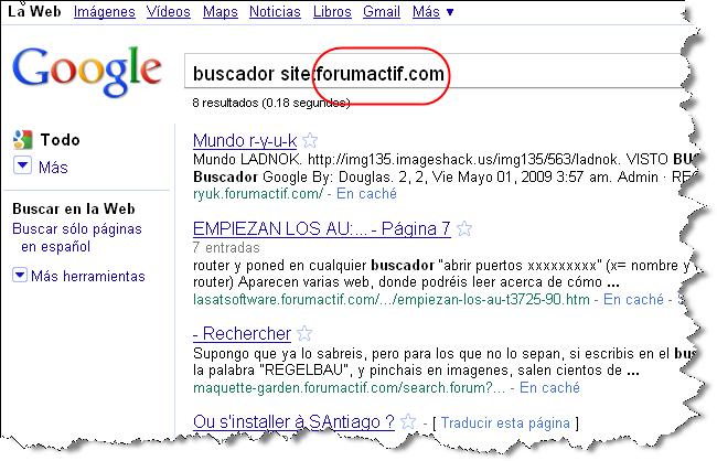 El buscador del foro no redirecciona correctamente en búsquedas Google y no funciona 2806smd