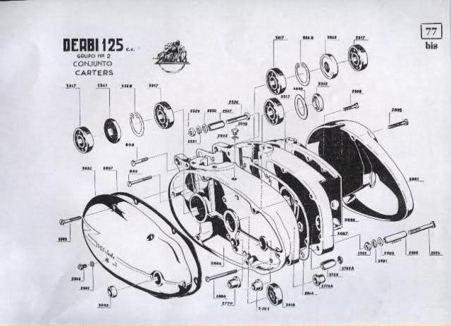Restauración Derbi 125 Super 4V - Karioko 294pd90