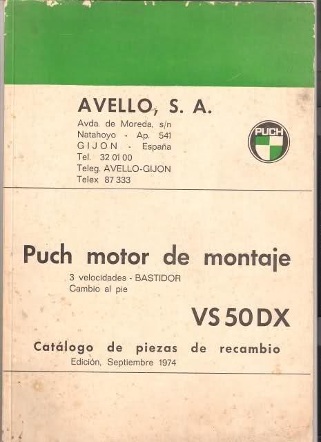 Varios manuales Puch 2ypm2o6