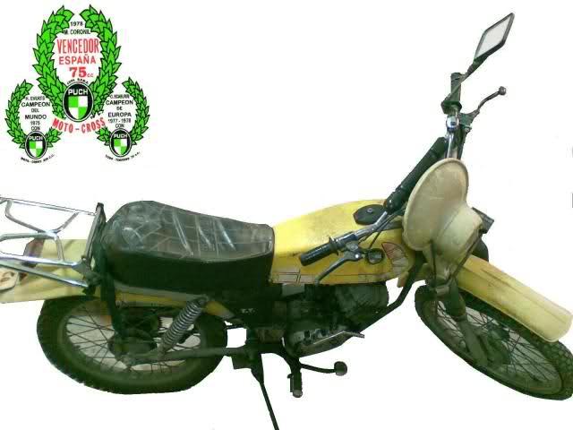 Restauración Puch Minicross TT 2z9fwbt