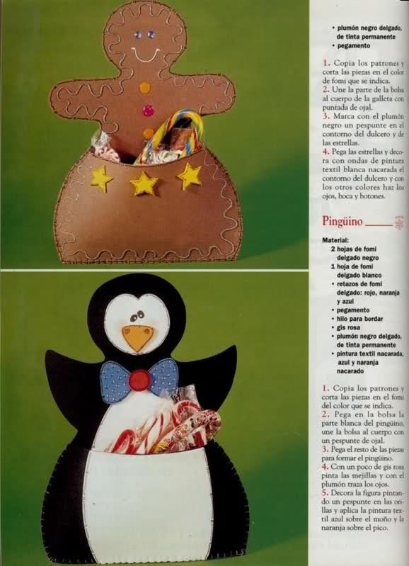 Dulceros Santa, Galleta Mono de nieve y Pinguino U2at0