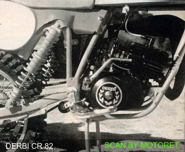 motoret - Derbi CR 82 * Motoret 23m8v4l