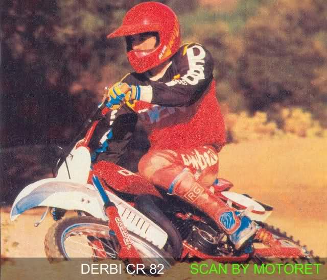Derbi CR 82 - Motoret 25tvpjl