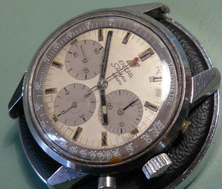 Enicar - Chronograph Enicar R72 : du Sherpa à l'Aqua 2cmusrs