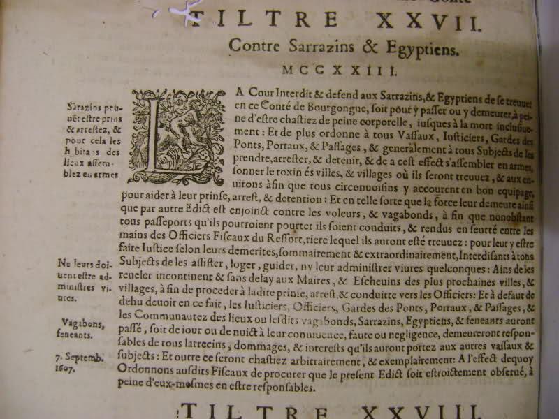 Lois et coutumes de la Franche Comté de Bourgogne au XVII°. 332xa81