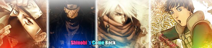 Shinobi's Come Back