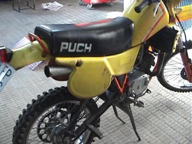 Puch Cobra M-82 TT Agua 1ª serie - La PerezPuch 5mmn9e