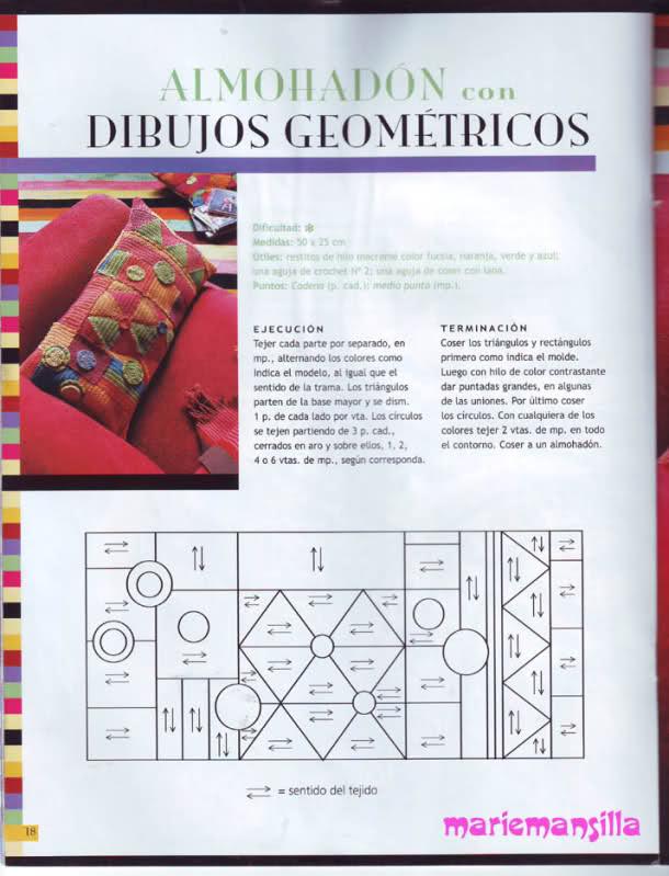 patrones - Busco patrones para almohadones A3xxh