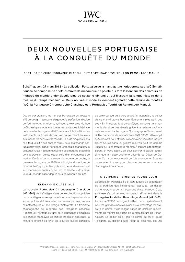 IWC - Deux nouvelles Portugaise à la conquète du monde. Dr71ip