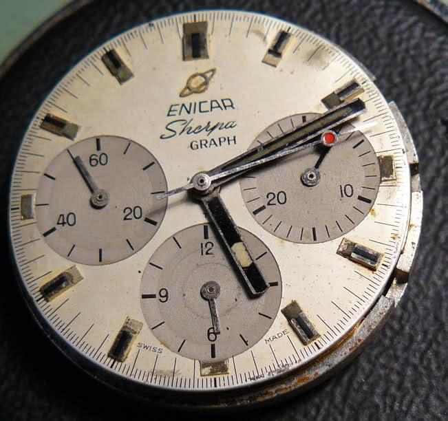 Enicar - Chronograph Enicar R72 : du Sherpa à l'Aqua Ehg0zt