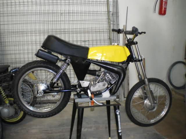 Restauración Puch Minicross TT Hv8fah