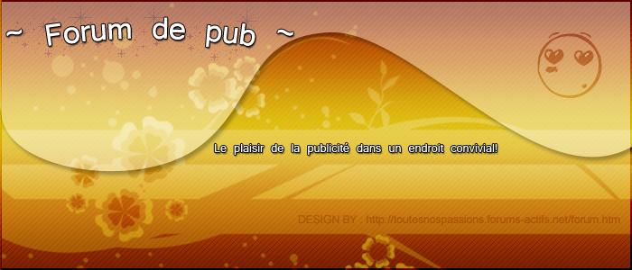 Really Pub : Votre forum publicité